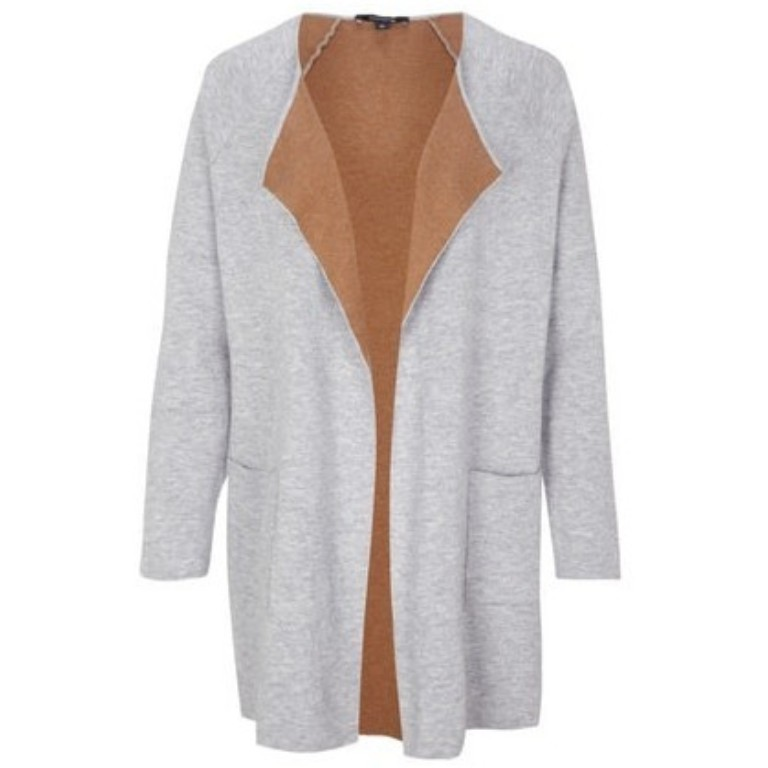 Comma Knittedjacket grau (8E.995.64.1905.90W7)
