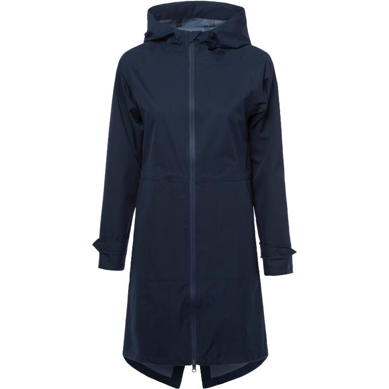 Derbe Future Travel 2 Raining Jacket Women dark blue