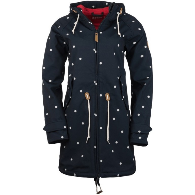 Derbe Island Friese Dots navy/red
